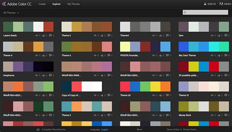 adobe colors 5 resources for finding color palettes motion array