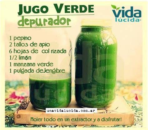 Jugo Verde Detox De Las Famosas by Las 25 Mejores Ideas Sobre Batidos Verdes En Y