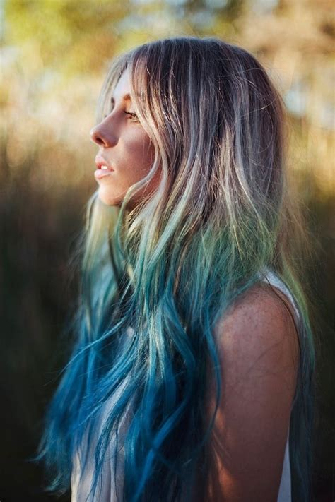 pictures of dirty blonde hair with ombre dirty blonde green blue ombr 233 hair hair pinterest