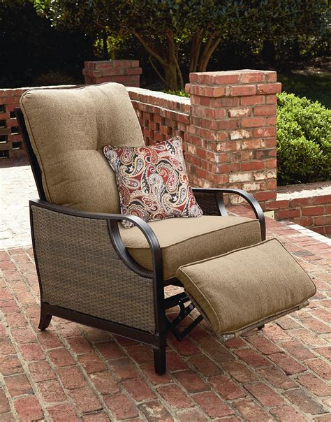 lazy boy outdoor recliner chair la z boy lazy outdoor furniture charlotte patio recliner