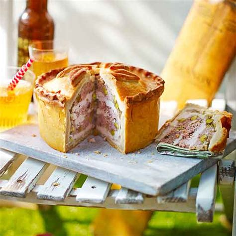 country homes and interiors recipes chicken and ale pie recipe ideal home