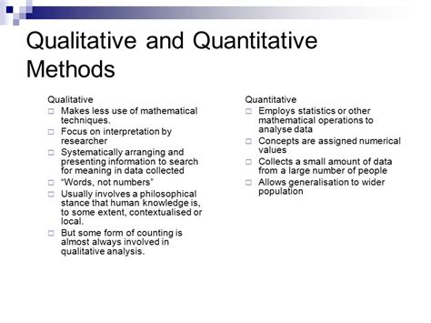 as data elements in quantitative and computational methods for the social sciences books an introduction to qualitative research ppt