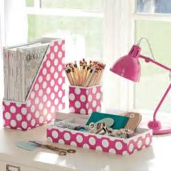 Pink Office Desk Accessories 4 Tips For A More Organized Room Pbteen