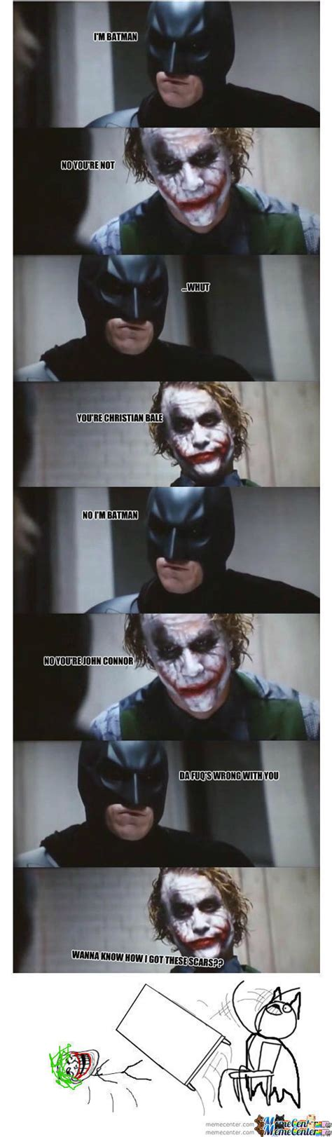 Batman Joker Meme - joker be trollin batman be hatin by alexhoran meme center