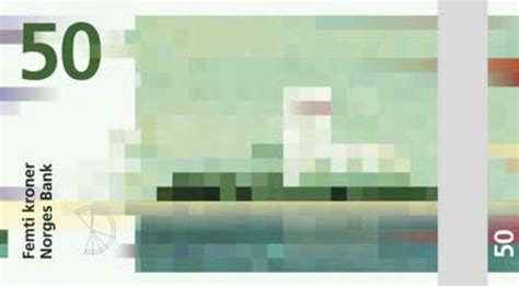 concept design norge norway s new currency design is perfectly pixelated high