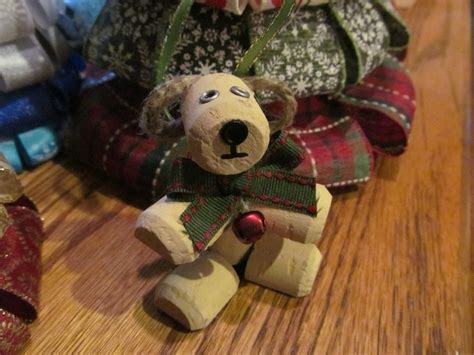 how to make a dog cork ornament the world s catalog of ideas