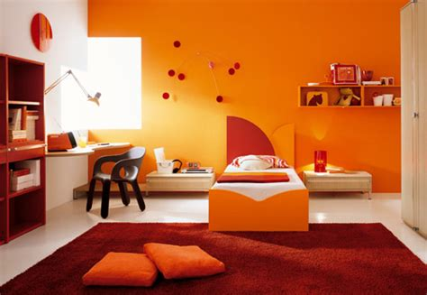 orange room ideas home design letsroll modern beds furniture small master