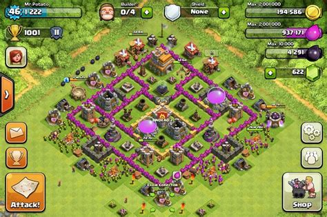 best layout strategy for clash of clans top clash of clans defense strategy town hall level 7