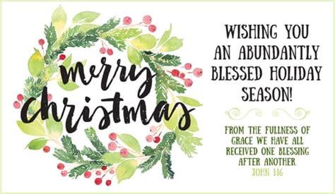 merry christmas abundantly blessed ecard  christmas cards