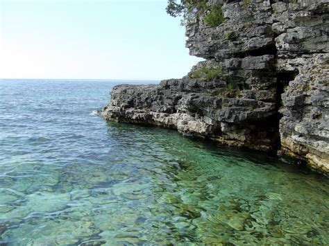 Door County Parks by Panoramio Photo Of Door County Wi Cave Point State Park