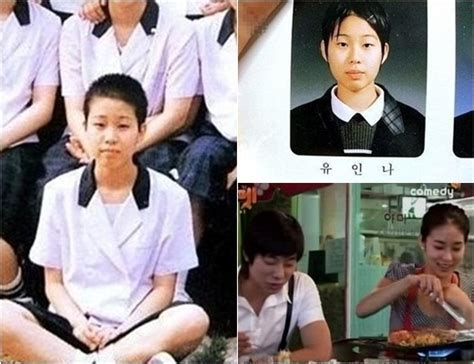 yoo ah in variety show yoo in na s unrecognizable past photo surfaced soompi