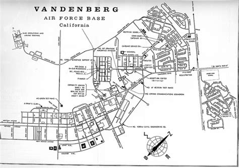 Kadena Afb Housing Floor Plans vandenberg afb map 1968 flickr photo sharing