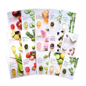 Limited Innisfree Its Real Squeeze Mask Original Varian Bamboo testerkorea trend setter from korea