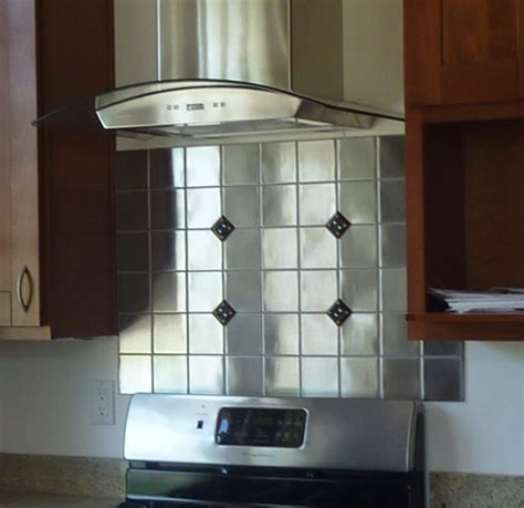 stainless steel kitchen backsplash panels backsplash ideas astonishing stainless steel backsplash
