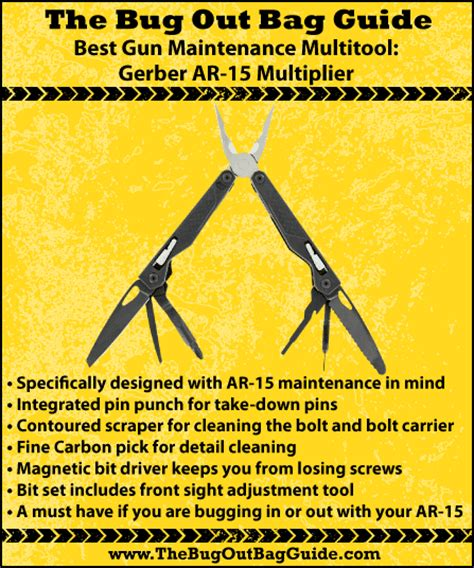 best ar 15 multi tool best multitool for backpacking survival