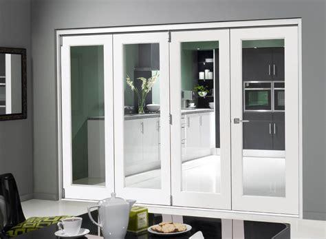 Interior Glass Folding Doors Finesse White 10ft Bifold Doors From Https Www Vufold Co Uk Bifolding Doors