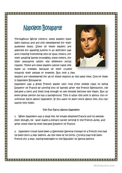 napoleon bonaparte biography pdf free download in hindi collection of napoleon bonaparte worksheets bluegreenish