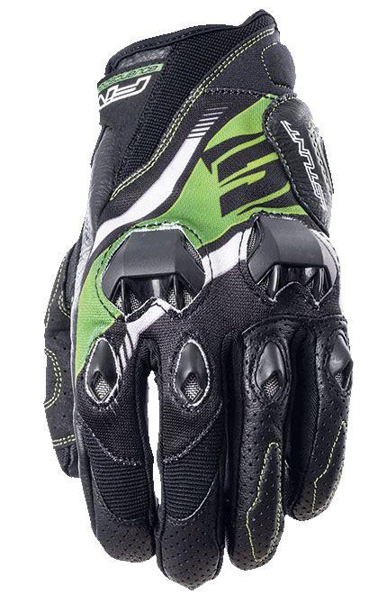 five gloves stunt evo replica icon green yazlık eldiven