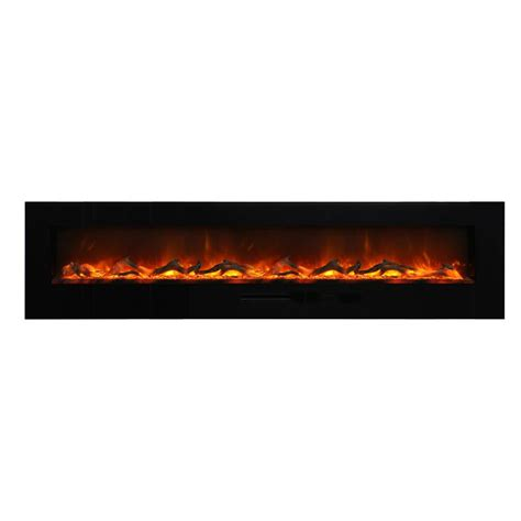 Flush Electric Fireplace by Amantii 88 Quot Wm Fm 88 10023 Bg Wall Mount Flush Mount Electric Fireplace Electric Fireplaces