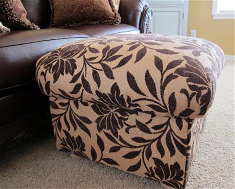 make your own ottoman do it yourself divas diy ottoman build your own from