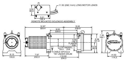 ramsey 2500 winch wiring diagram winch free