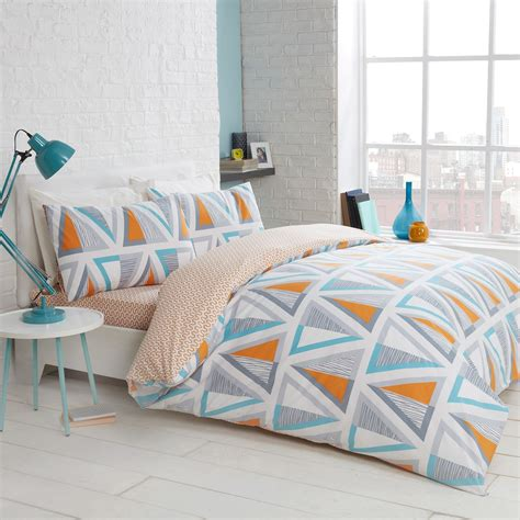 Care Bedding by Retro Easy Care Reversible Complete Bedding Set Julian
