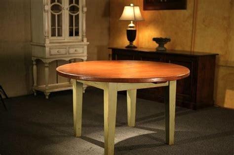 Circular Wooden Kitchen Table Farmhouse Tables
