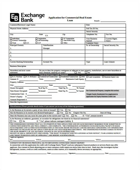 commercial loan agreement loan agreement form exle 65 free documents in word pdf
