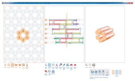 Dna Origami Software - a screenshot from the cadnano software 11 the program