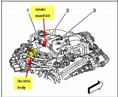electronic throttle control 2004 cadillac deville electronic valve timing where is the throttle position sensor located on a 2004 cadillac cts 3 6