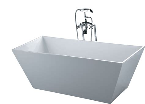 Stand Alone Tub Faucet by Bathtub Soaking Rectangle Floor Faucet Modern Stand