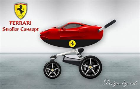 Ferrari Kinderwagen by Ferrari Stroller Concept Baby Stroller Car Seat Pinterest