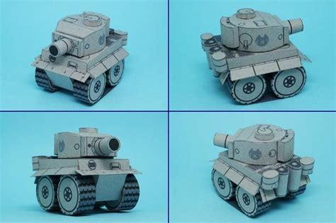 Papercraft Tanks - tiger i tank papercraft papercraft paradise