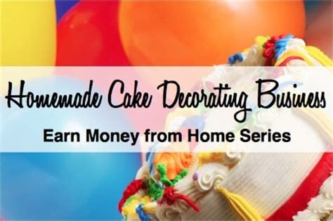 start a cake decorating business savings lifestyle
