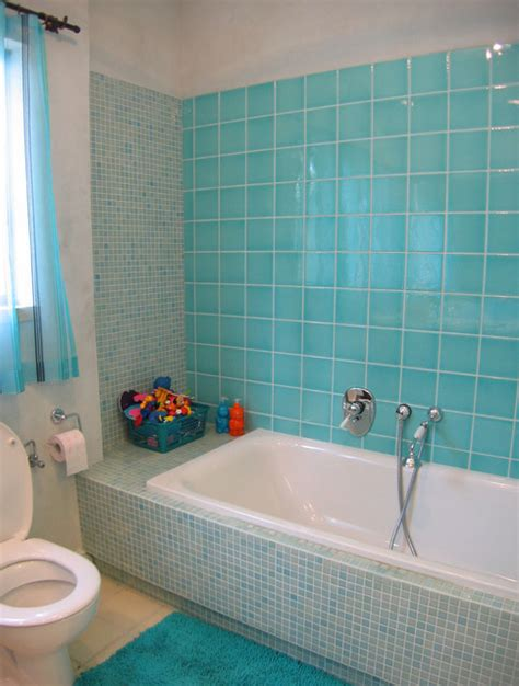 turquoise tile bathroom turquoise bathroom mediterranean bathroom other metro by davidie rozin architects