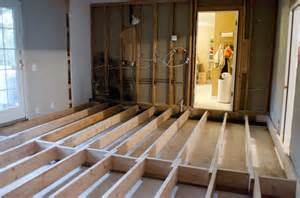 Raised Kitchen Floor by Floor Joist Leveling Carpet Vidalondon