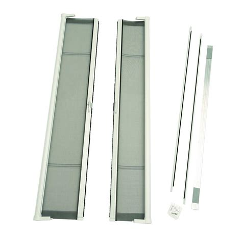 odl 72 in x 78 in brisa white height door kit retractable screen door brddshwe