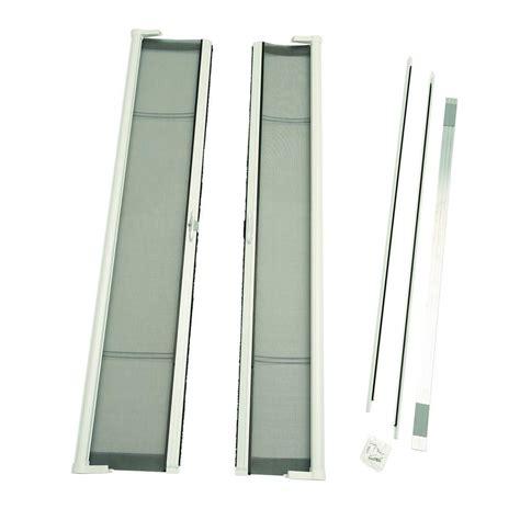 retractable screen 72 door odl 72 in x 78 in brisa white height door
