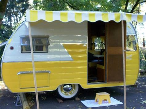 Tent Awnings For Cars Vintage Camper On