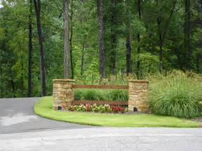 larson driveway entrance landscaping quality creative
