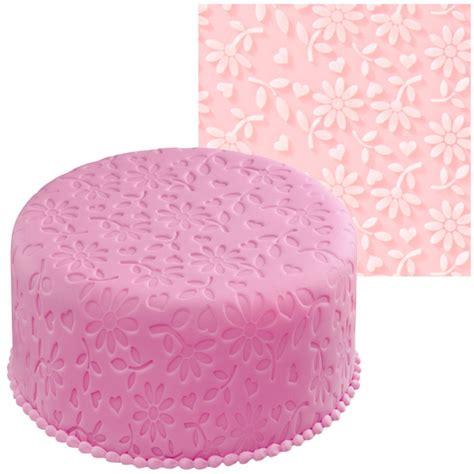 Fondant Mat by Wilton Floral Fondant Imprint Mat Decorate Cake Ebay