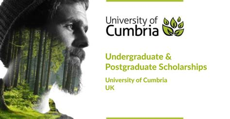 Of Cumbria Mba by Undergraduate And Postgraduate Scholarships At