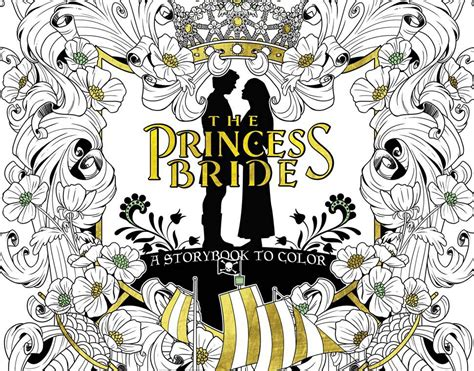 libro the princess bride the princess bride tendr 225 un libro para colorear modogeeks