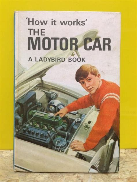 how it works the motor car ladybird book cover postcard ebay 17 best images about fonts on children s books font sunday on maurice sendak are