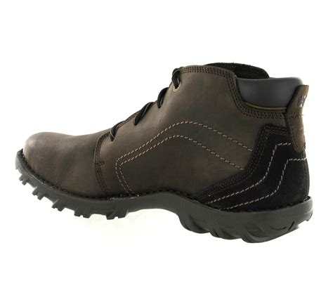 rugged leather boots mens cat caterpillar transform rugged leather lace up ankle boots size 6 15 uk ebay