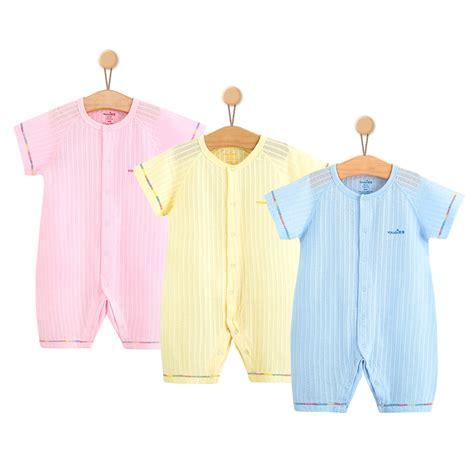 Romper Bodysuit Pendek 3 In 1 Boy Sleepsuit 1 3pcs baby clothes summer baby boys rompers sleeve cotton costumes pajamas suit 3 6 9