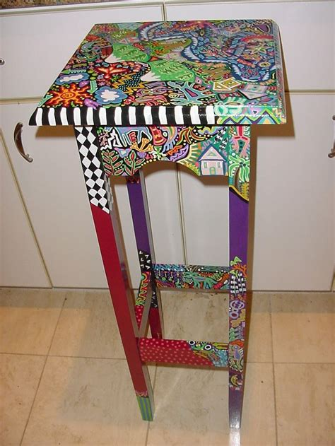 best 20 hand painted stools ideas on pinterest 88 best images about painting chairs on pinterest
