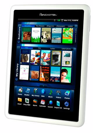 android ereader a novel idea from pandigital an android powered e book reader pcworld