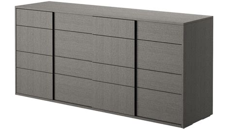 Gray Oak Dresser by Modern Bastille Dresser Matte Grey Oak Eco Veneer