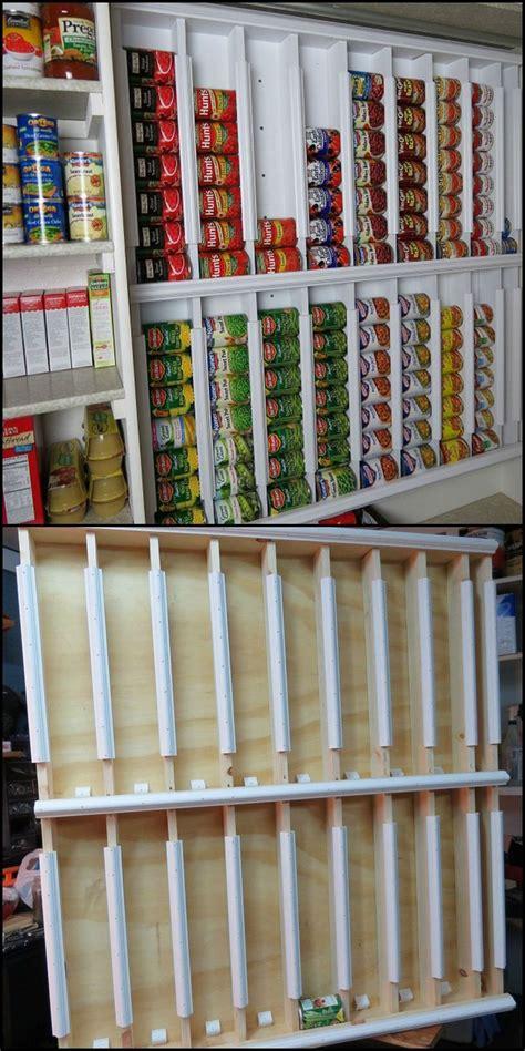 speisekammer organizer diy rotating canned food system speisekammer haushalte